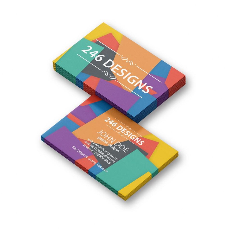 Business Card Design 01039 246 Designs