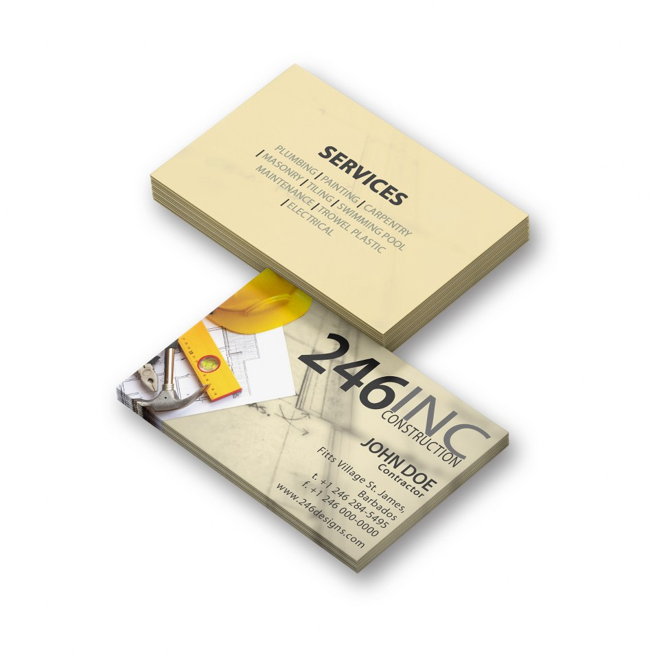 Business Card Design 01050 246 Designs