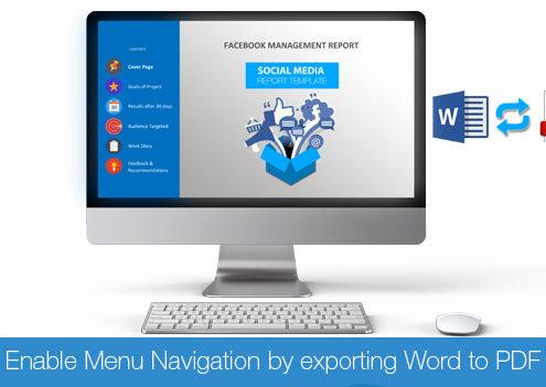 Social Media Report Template | 246 Designsit Report Template